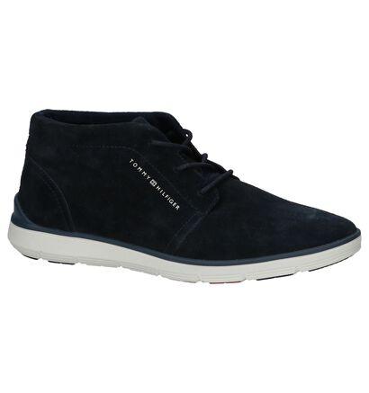 Donkerblauwe Geklede Boots Tommy Hilfiger Lightweight in daim (221468)