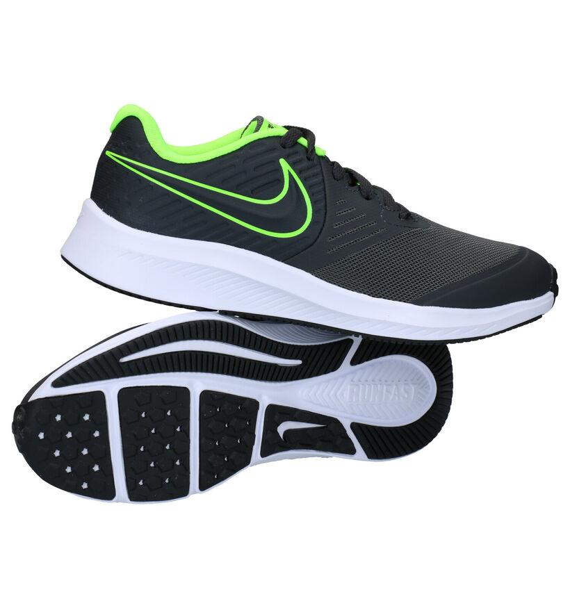 Nike Star Runner 2GS Baskets en Noir en cuir (284473)