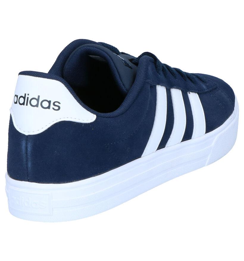 adidas Daily 2.0 Baskets en Bleu en daim (273816)