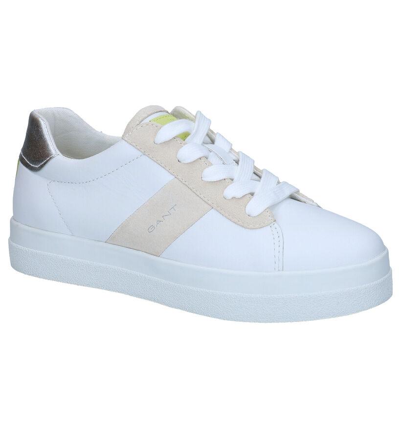 Gant Avona Witte Sneakers in leer (287486)