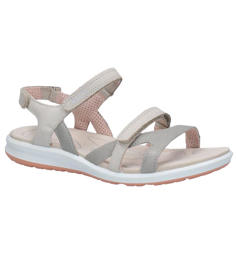 ECCO Cruise Sandales en Gris en cuir (269701)