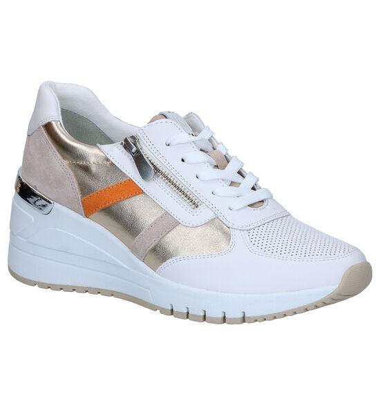 Marco Tozzi Chaussures à lacets en Blanc