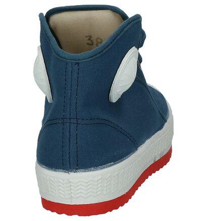 Hoge Sneakers Zwart 0051 Barvy in stof (241151)