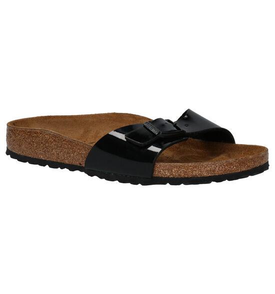 Birkenstock Madrid Zwarte Slippers