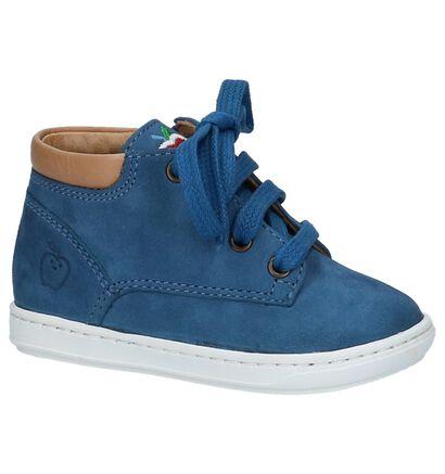 Shoo Pom Bouba Zip Desert Donkerblauwe Babyschoentjes, Blauw, pdp
