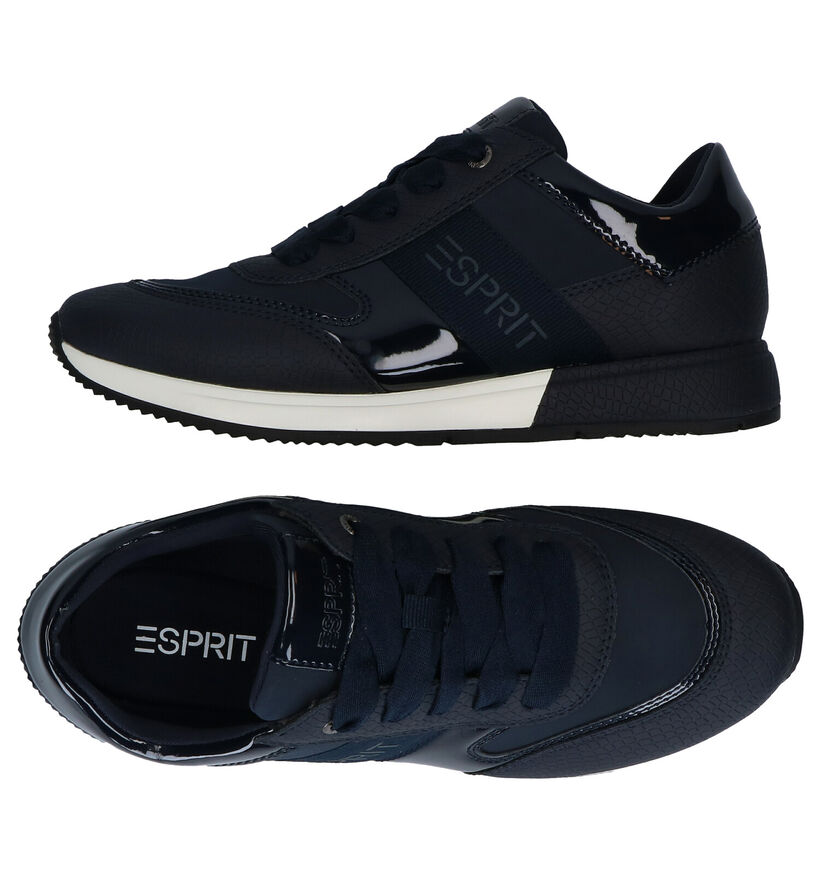 Esprit Mallorca Baskets en Noir en simili cuir (279621)