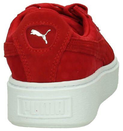 Puma Baskets basses  (Noir), Rouge, pdp