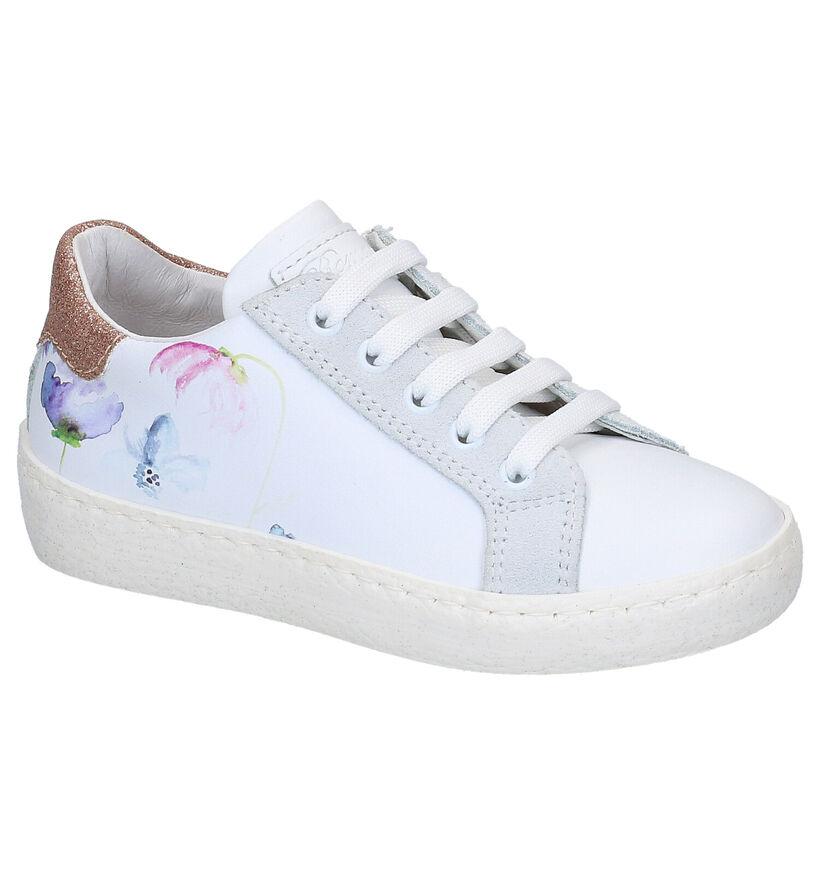 Romagnoli Chaussures basses en Blanc en cuir (269566)
