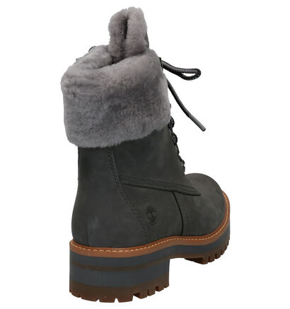 Timberland Courmayeur Valley Grijze Boots in nubuck (255337)