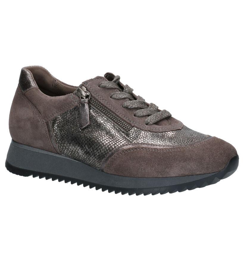 Gabor OptiFit Chaussures basses en Taupe en daim (260228)