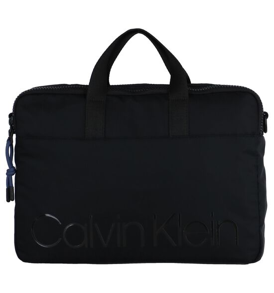 Zwarte Laptoptas Calvin Klein Trail Slim