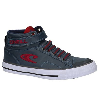 O'neill Strapper Blauwe Sneakers in kunstleer (214497)