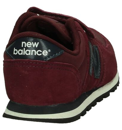 Kaki Sneakers met Velcro New Balance, Bordeaux, pdp