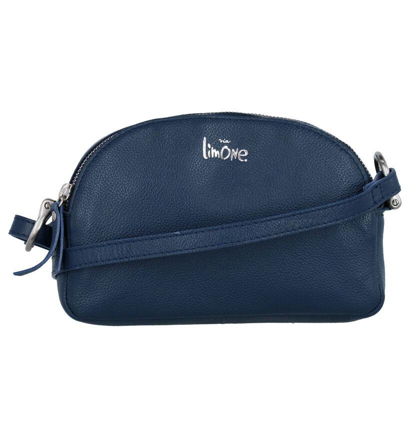 Via Limone Sac Porté Croisé en Bleu en cuir (276257)