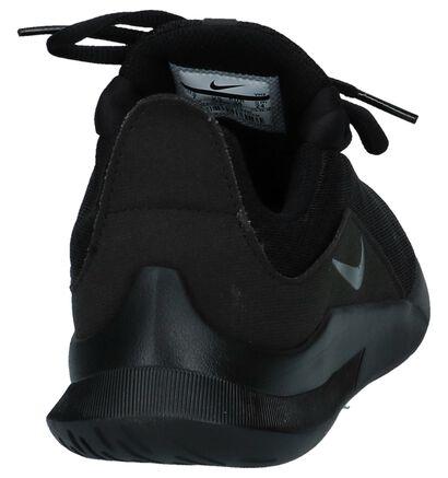 Nike Baskets basses en Noir en textile (238325)