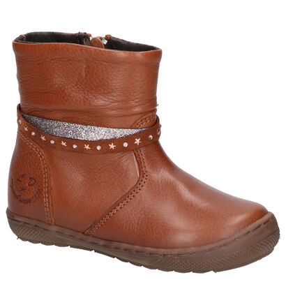 Little David Verona Chaussures hautes en Cognac en cuir (261168)