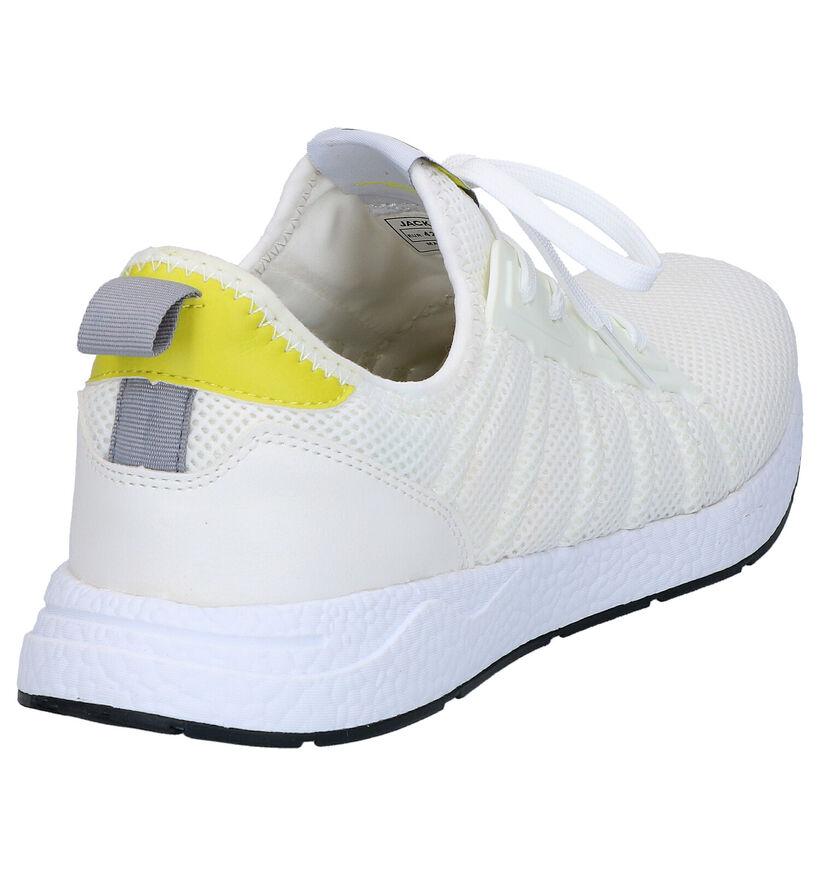 Jack & Jones Mike Witte Sneakers in stof (269109)