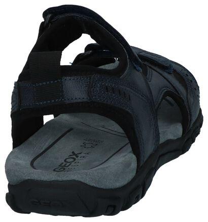 Geox Sandales en Noir en simili cuir (240055)