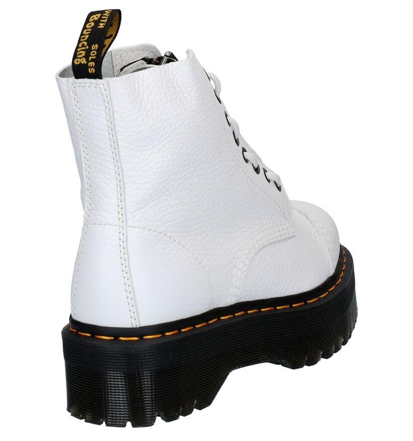 Dr. Martens Sinclair Zwarte Boots in leer (284636)