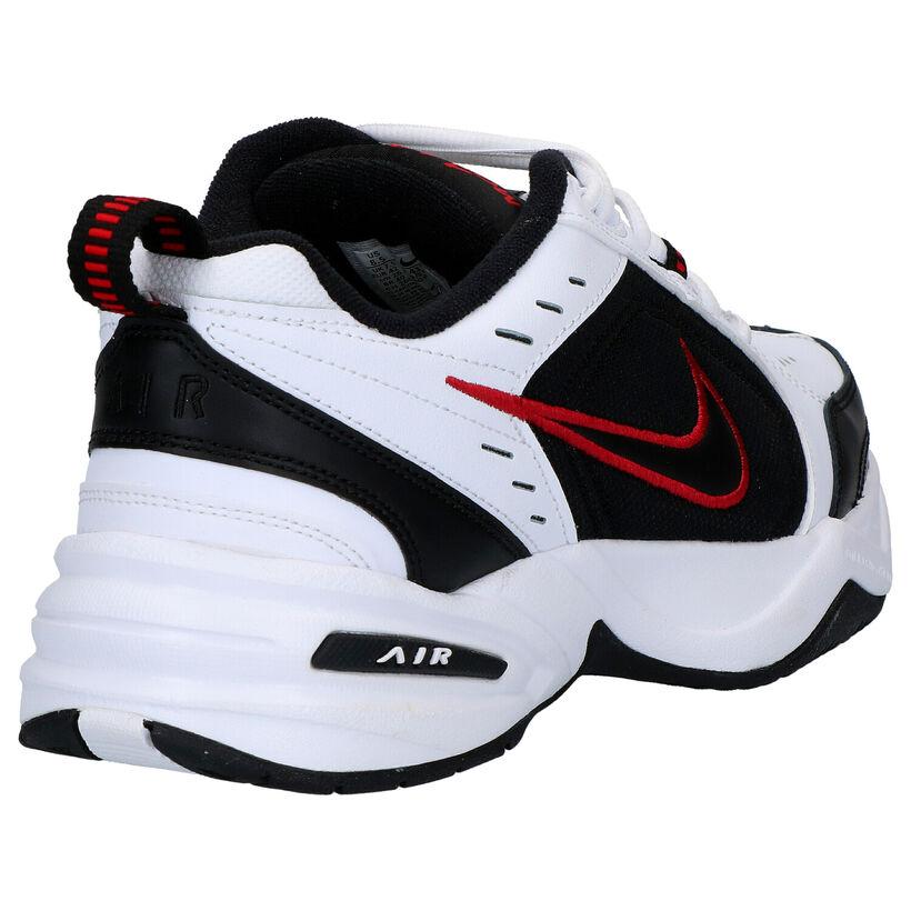 Nike Air Monarch IV Baskets en Blanc en simili cuir (262192)
