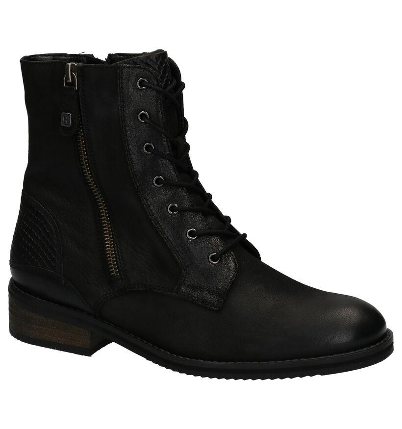 Helioform Boots Zwart in nubuck (262416)