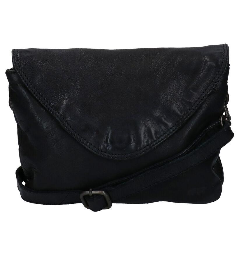 Bear Design Sac porté croisé en Noir en cuir (283601)