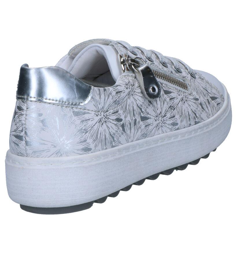 Remonte Chaussures basses en Blanc en cuir (266877)