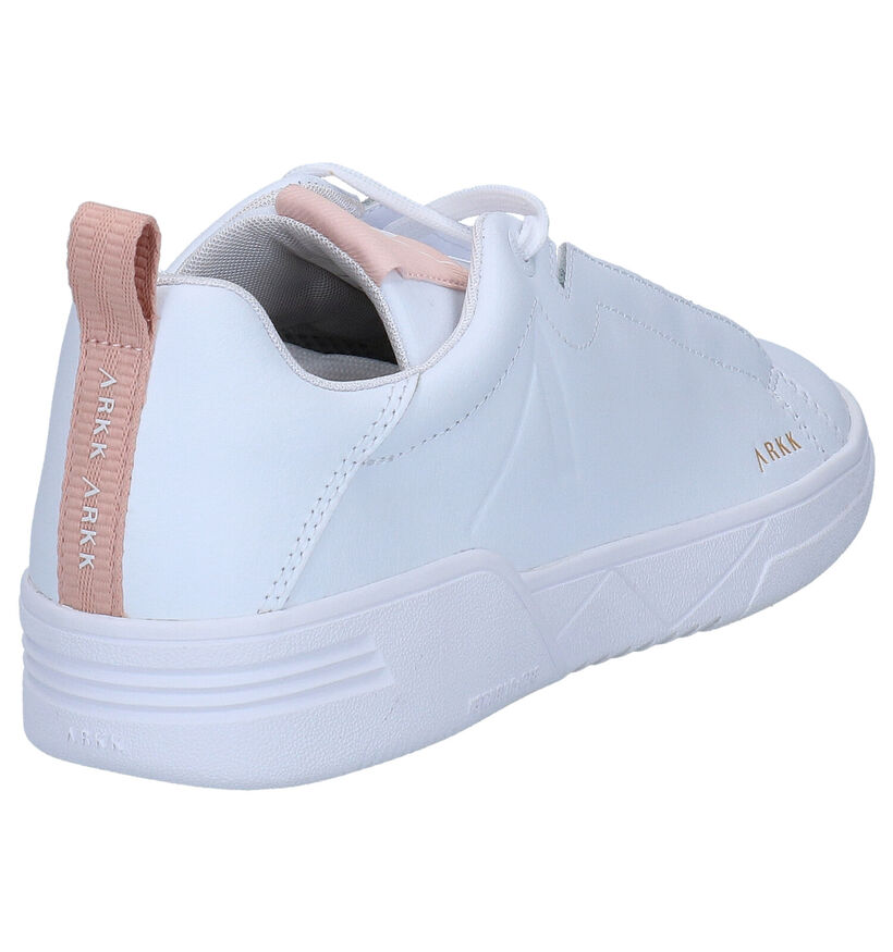 ARKK Uniklass Witte Sneakers in leer (270977)