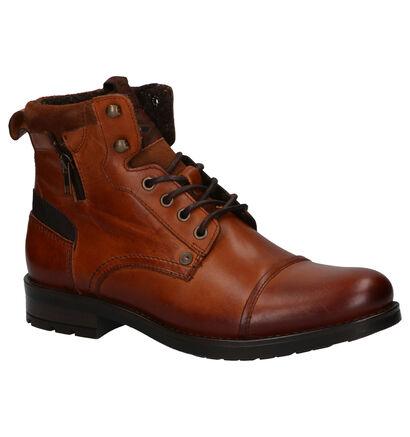 Borgo Sport Cognac Boots in leer (259254)