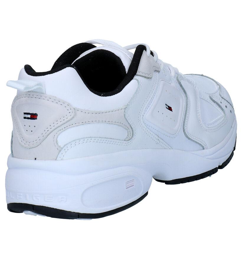 Tommy Hilfiger Heritage Tommy Jeans Baskets en Blanc en cuir (276274)
