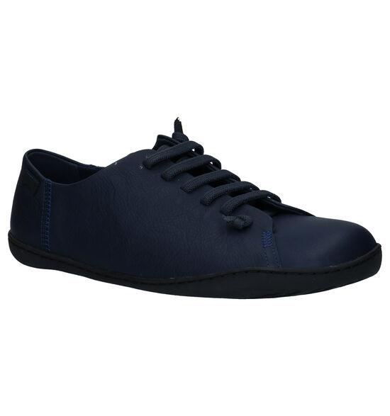 Camper Chaussures slip-on en Bleu foncé