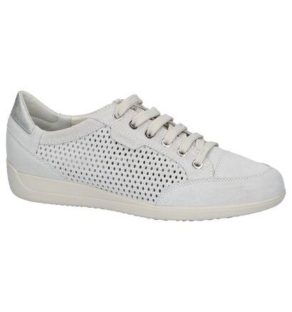 Geox Chaussures à lacets en Écru en nubuck (220164)