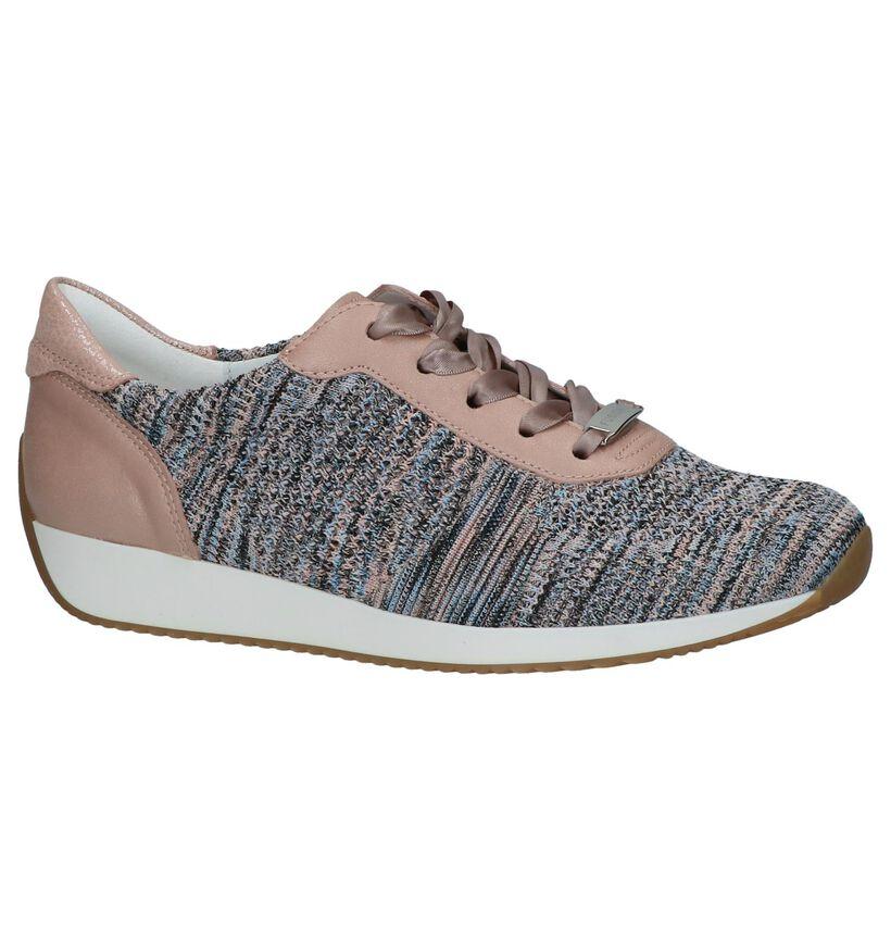 Ara Chaussures à lacets en Rose en textile (246488)