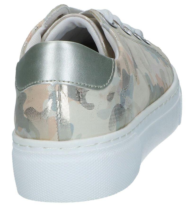 Remonte Chaussures à lacets en Argent en cuir (239434)