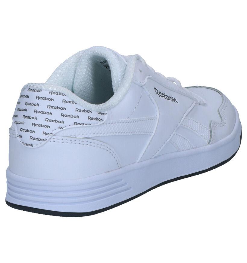 Witte Sneakers Reebok Royal Techqu in kunstleer (248967)