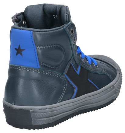 Little David Maxim Kaki Sneakers in leer (261378)