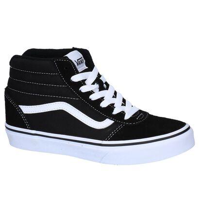 Vans Ward High Zip Licht Roze Skateschoenen, Zwart, pdp