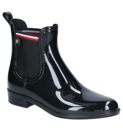 Tommy Hilfiger Zwarte Boots in stof (255902)