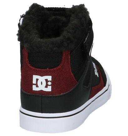 DC Shoes Skate sneakers en Noir en textile (200443)