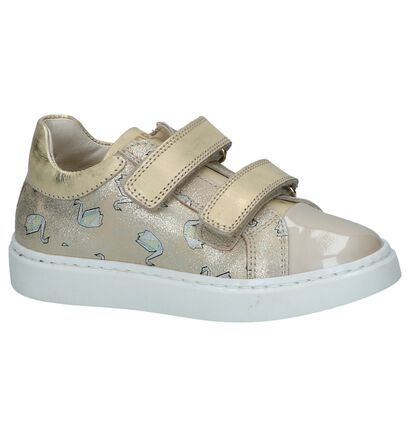 STONES and BONES Chaussures basses en Or rose en cuir (240817)