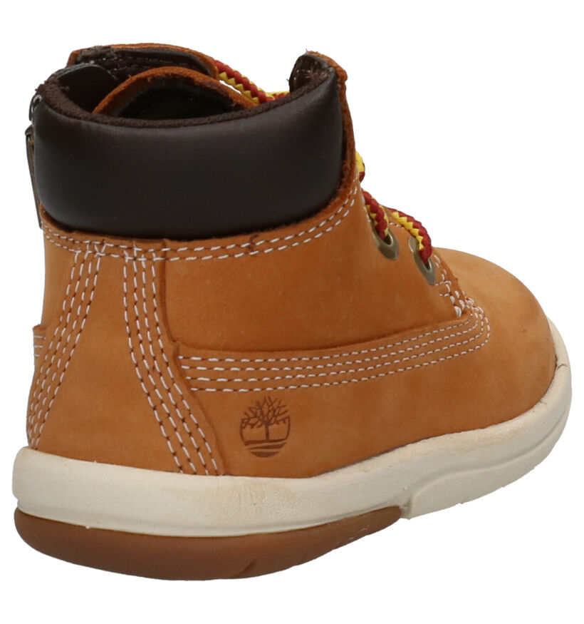 Timberland Toddle Tracks 6 Inch Boots Naturel in nubuck (254752)