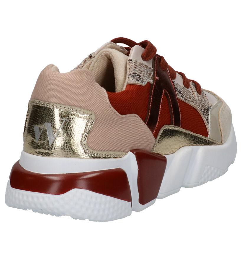 Vanessa Wu Multicolor Sneakers in kunstleer (275340)