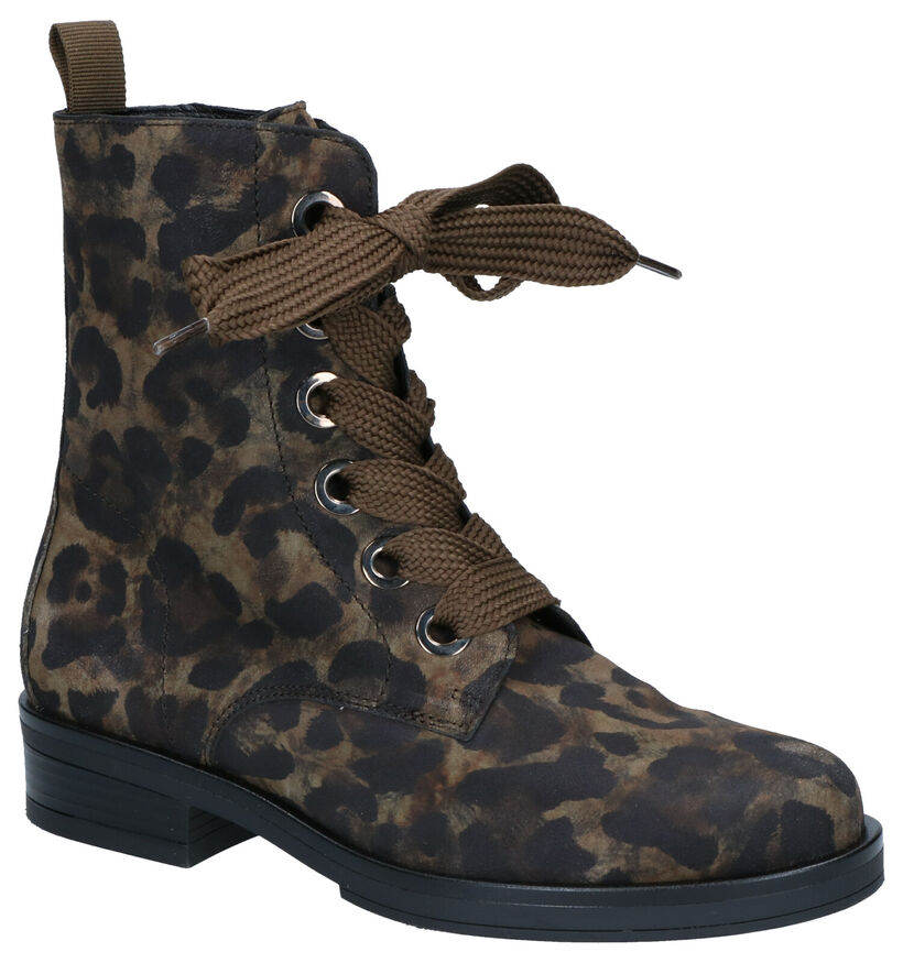 Gabor Best Fitting Kaki Boots in nubuck (260119)