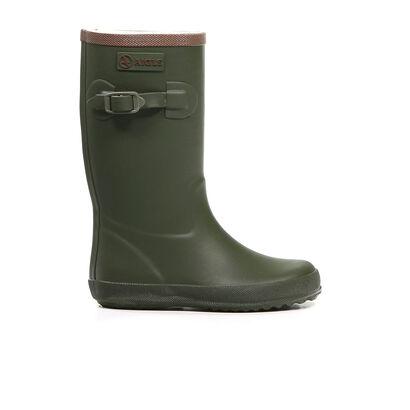 Aigle Bottes de pluie en Vert kaki en caoutchouc (161544)