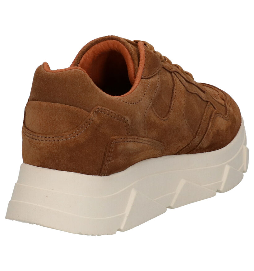 Tango Kady Fat Beige Sneakers in nubuck (298493)