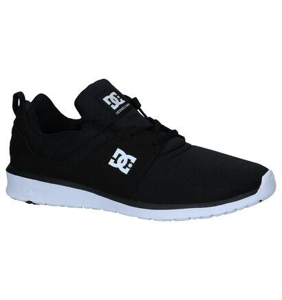 DC Shoes Baskets basses en Noir en textile (240917)