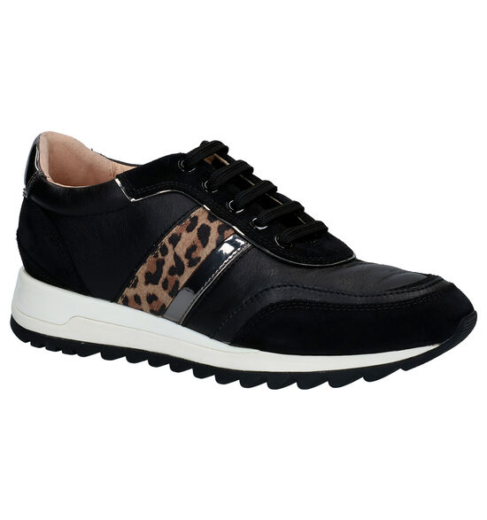 Geox Tabelya Chaussures à lacets en Noir