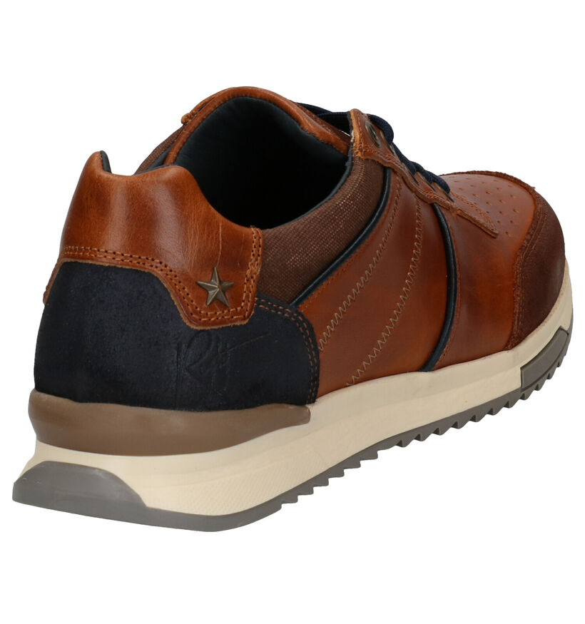 Bullboxer Chaussures basses en Cognac en textile (281836)