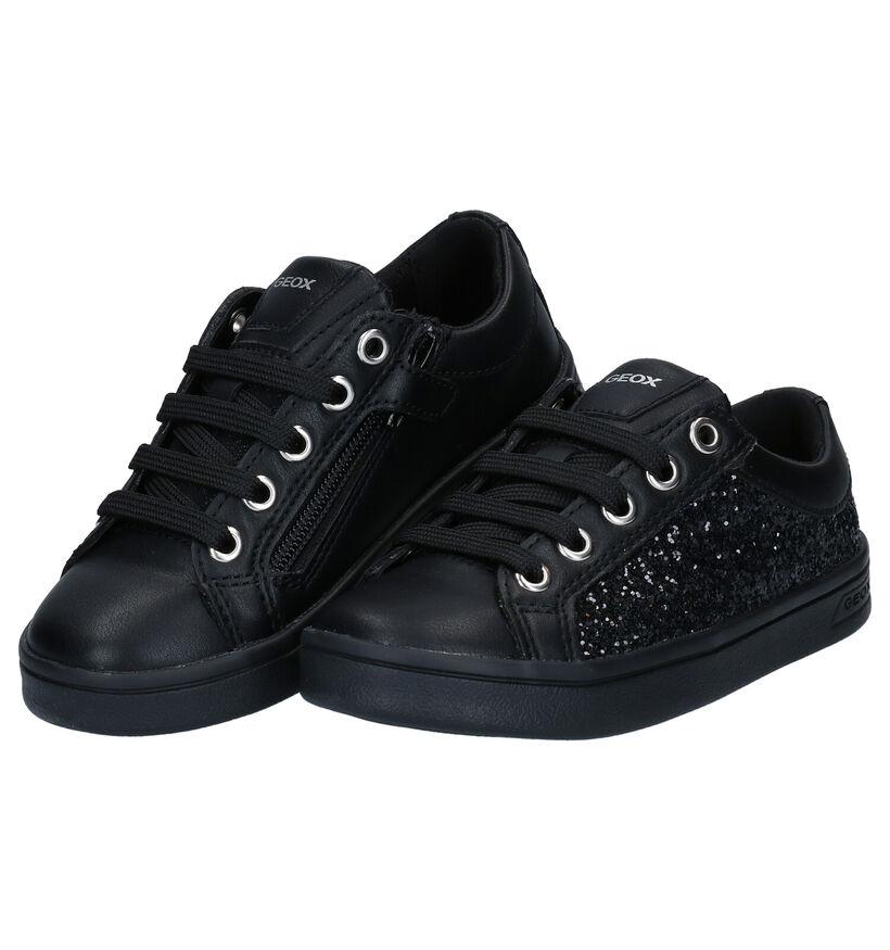 Geox Baskets basses en Noir en simili cuir (278272)