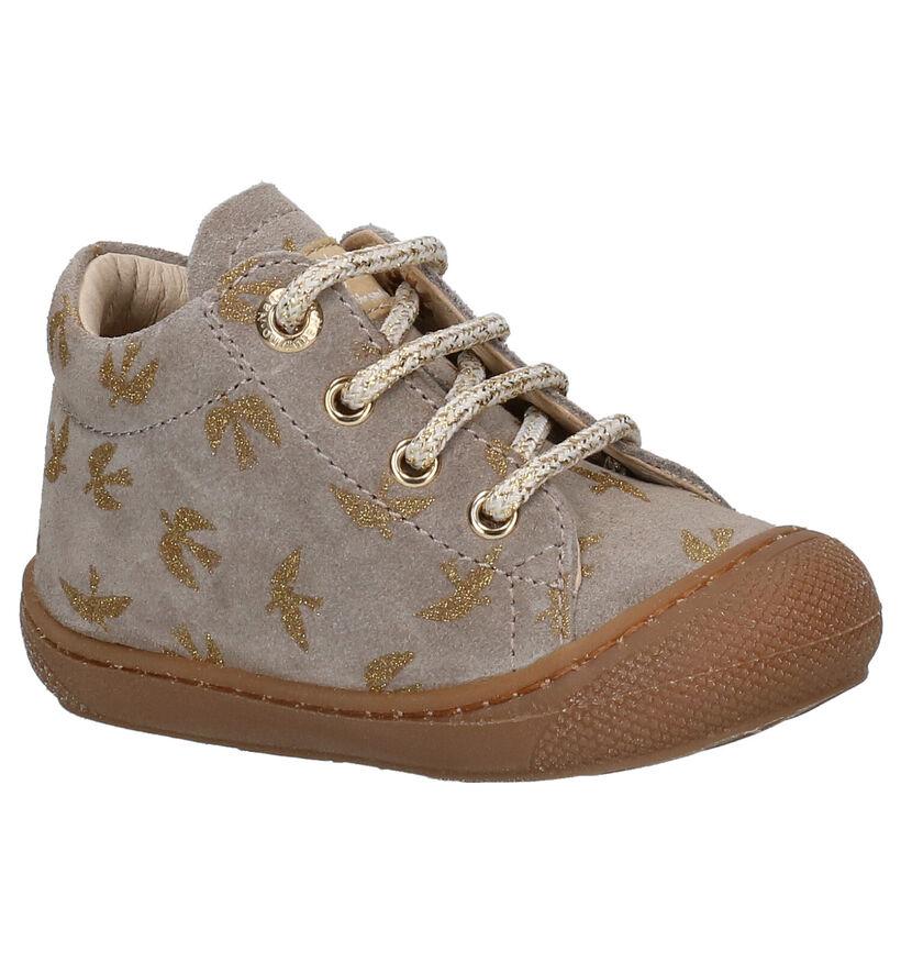 Naturino Cocoon Chaussures hautes en Gris en daim (282246)